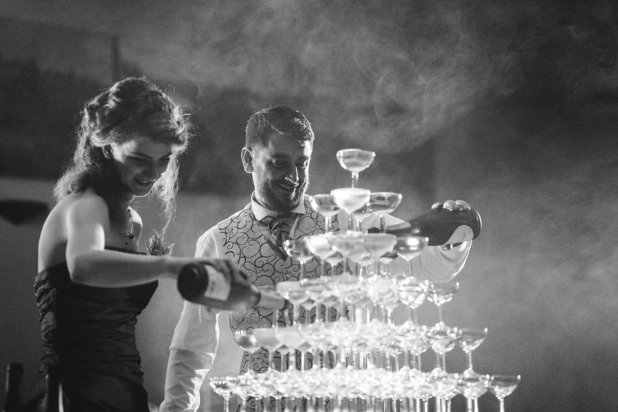 pyramide champagne