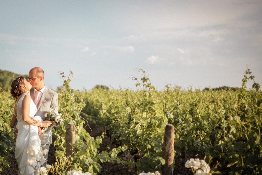 couple vignes château bordeaux