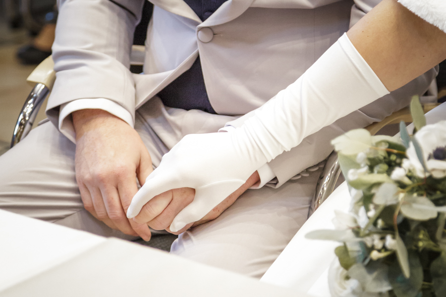 gant de mariée