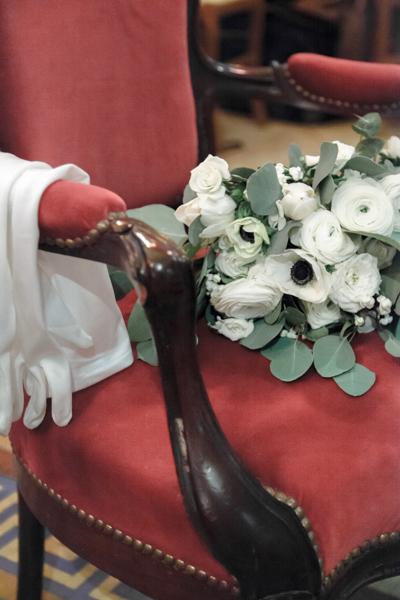 gant de mariage