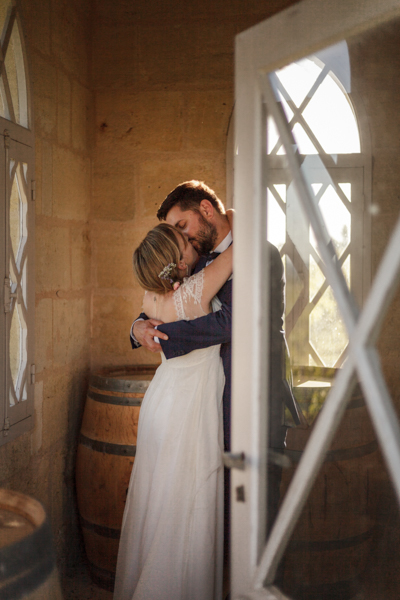 mariage medoc vignes