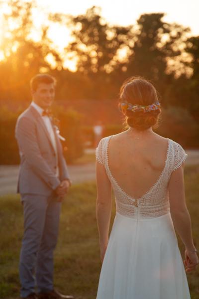 photographe mariage château goudichaud