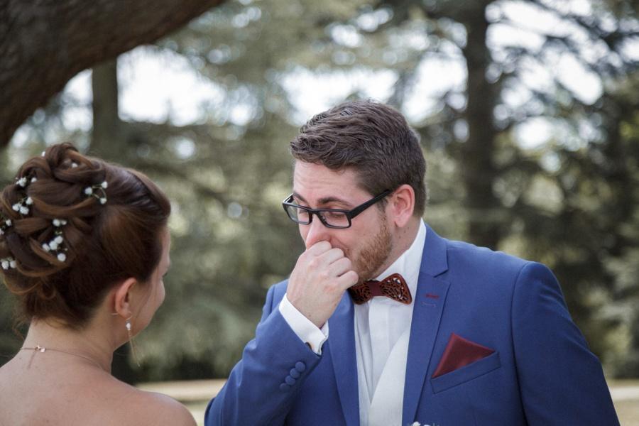 pleurs marié